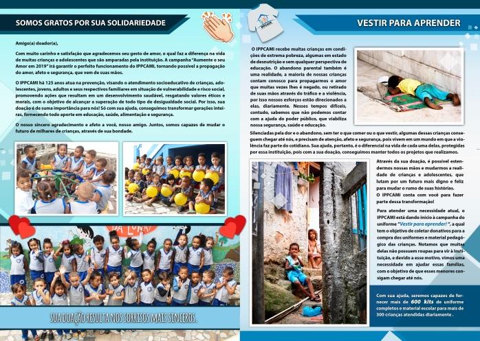 Verso - Informativo Uniforme